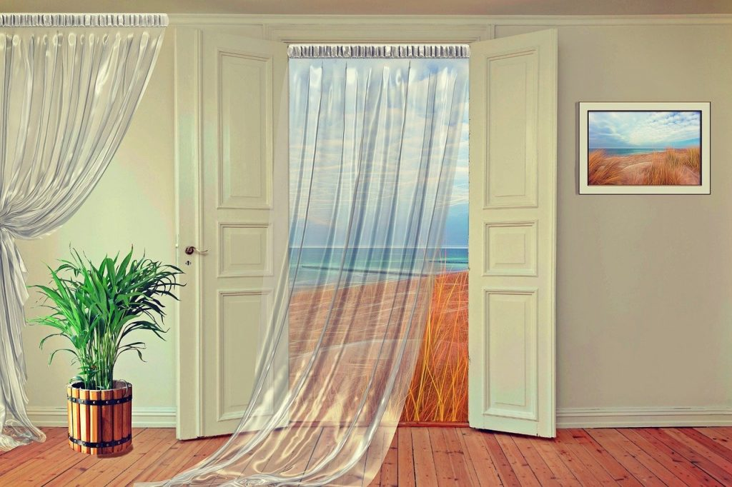 cortinas transparentes precio