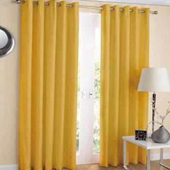 comprar cortinas amarillas