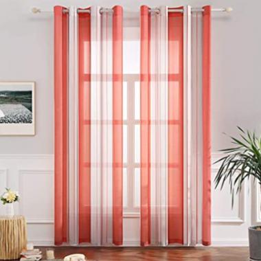comprar cortinas rojas
